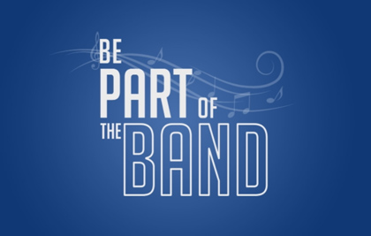 Image result for be part of the band logo